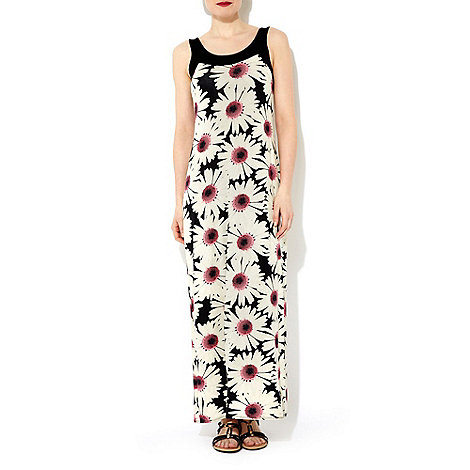 Wallis - Daisy print maxi dress