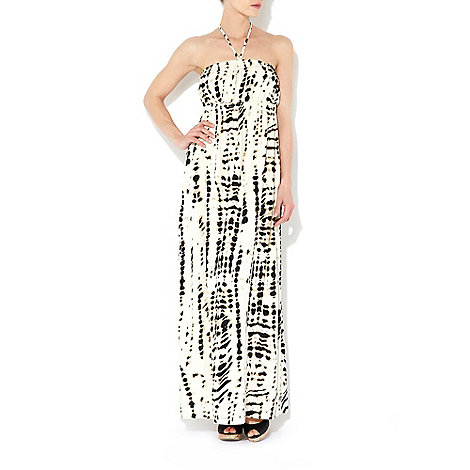 Wallis - Stone strapless maxi dress