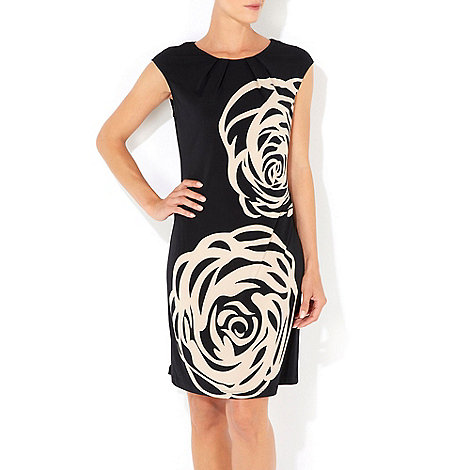 Wallis - Stone rose printed dress