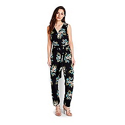 Wallis - Tropical floral print jumpsuit
