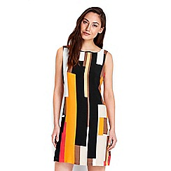 Wallis - Colour block pinny dress