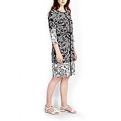 Wallis - Mono paisley tunic dress