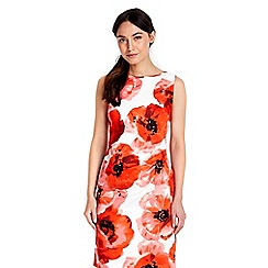 Wallis - Red floral shift dress