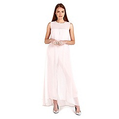 Wallis - Blush split front jumpsuit