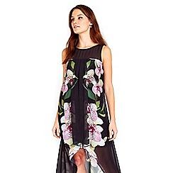 Wallis - Orchid split front dress