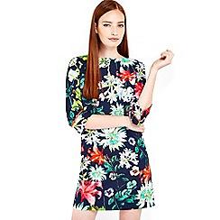 Wallis - Hermione de paula navy floral dress