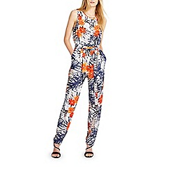 Wallis - Tropical floral jumpsuit