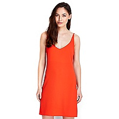 Wallis - Plain red camisole dress