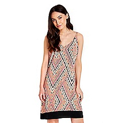 Wallis - Zig zag print camisole dress