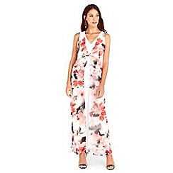 Wallis - Ivory Floral Maxi Dress