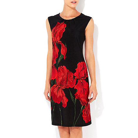 Wallis - Red floral tunic dress