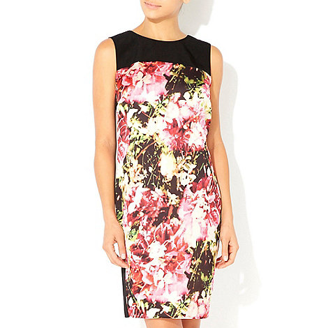 Wallis - Multi coloured floral shift dress