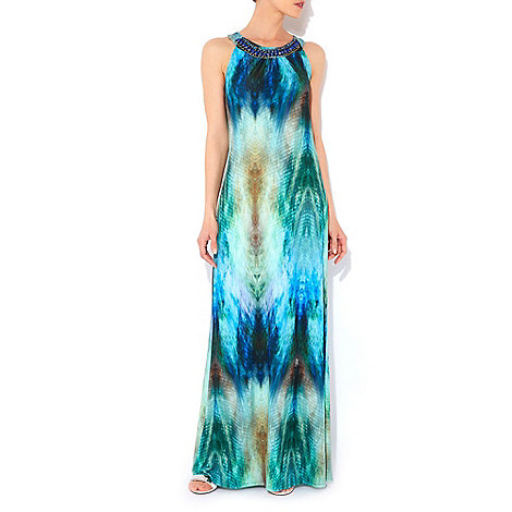 Wallis - Tropical print maxi dress