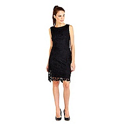 Wallis - Black crochet lace dress