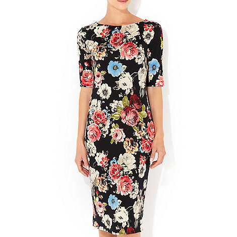 Wallis - Floral midi dress