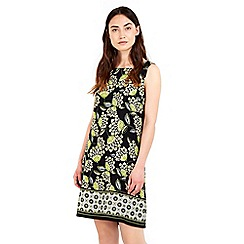 Wallis - Lime border tunic dress