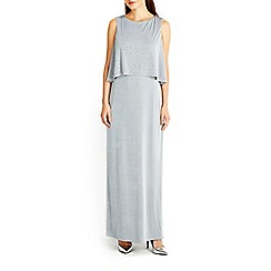 Wallis - Grey hotfix layer maxi dress