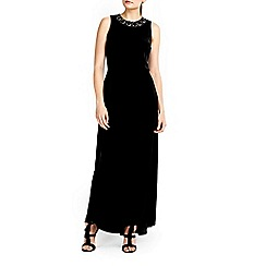 Wallis - Velvet maxi dress