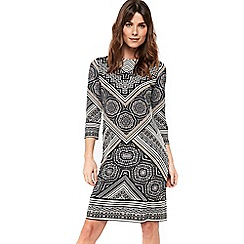 Wallis - Stone printed tunic dress