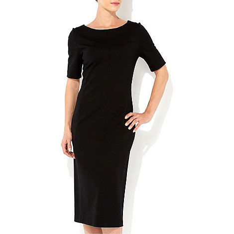 Wallis - Black midi dress