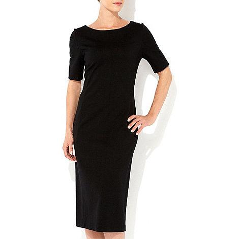 Wallis - Black midi dress