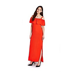 Wallis - Plain red maxi dress