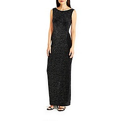Wallis - Ruch side sparkle maxi dress