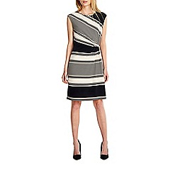 Wallis - Stone stripe dring dress