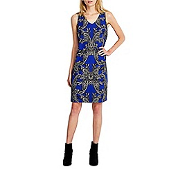 Wallis - Blue paisley tunic dress