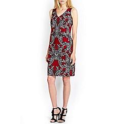 Wallis - Plum paisley tunic dress