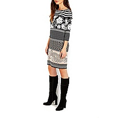 Wallis - Stone printed tunic dress