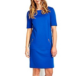 Wallis - Blue zip shift dress