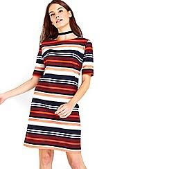 Wallis - Stripe shift dress