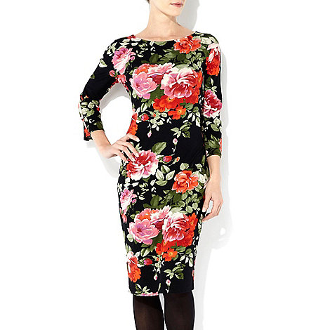 Wallis - Floral printed midi dress
