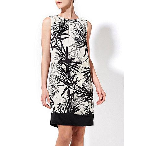 Wallis - Palm print shift dress