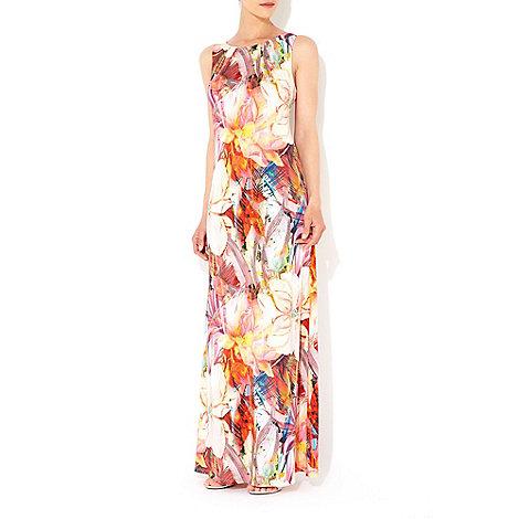 Wallis - Flower column maxi dress