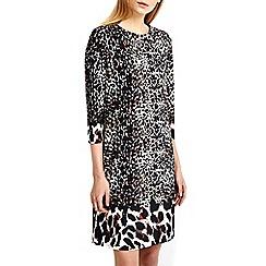 Wallis - Animal border print tunic dress