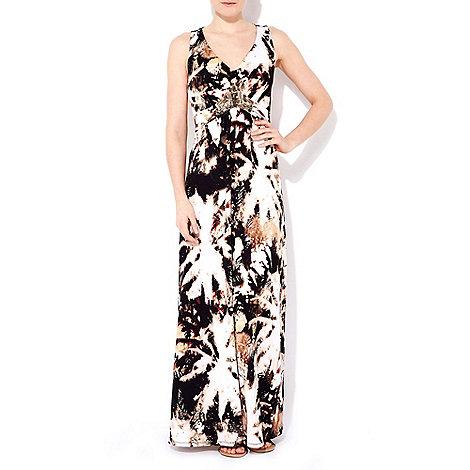 Wallis - Embellished printed maxi dress