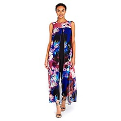 Wallis - Blue orchid split front jumpsuit