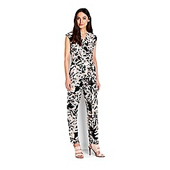 Wallis - Nude tropical print jumpsuit