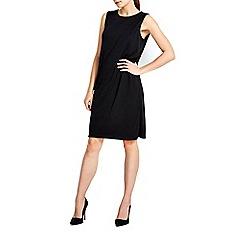 Wallis - Eyelet drape dress
