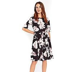 Wallis - Stone floral dress
