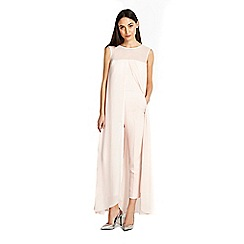 Wallis - Overlayer jumpsuit blush
