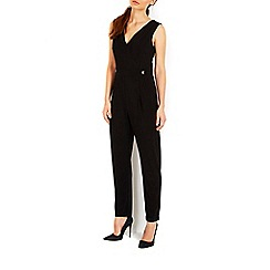 Wallis - Black embellished jumpsuit