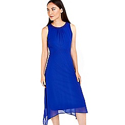 Wallis - Blue embellished hem dress