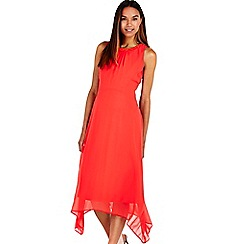 Wallis - Coral embellished hem dress