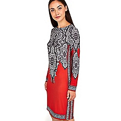 Wallis - Paisley printed tunic dress