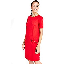 Wallis - Red zip dress