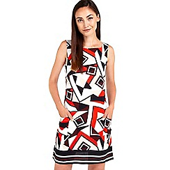 Wallis - Absract geo print tunic dress