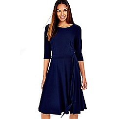 Wallis - Crepe fit and flare dress